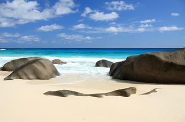 plage Source d'Argent aux Seychelles