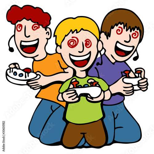 Video Game Addicted Kids