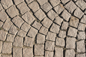 Old stone paved street