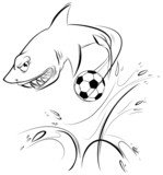 The Magnificent Shark Sports Mascot