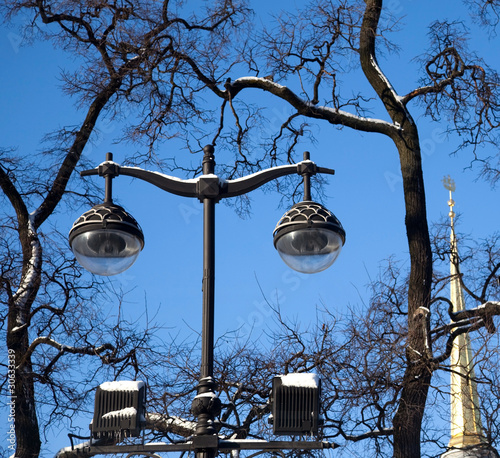 Vintage Street lighting