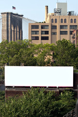 City Billboard Ad Space
