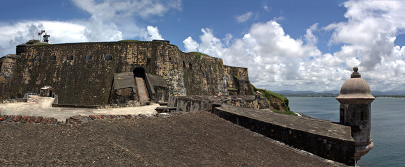 El Morro Fort Panorama