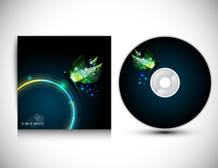 CD Cover Design Template.Vector illustration.
