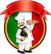 Cuoco pizza italiana