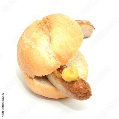 Bratwurst, Senf