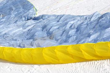 Paraglider detail