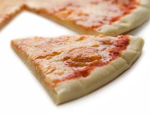 fetta di pizza margherita