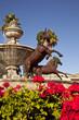 Leinwanddruck Bild - Famous Scottsdale Fountain