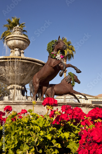 Deurstickers Fontaine Famous Scottsdale Fountain