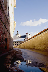 Old town street in Vilnius