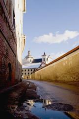 Old town street in Vilnius