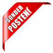 SONDERPOSTEN button