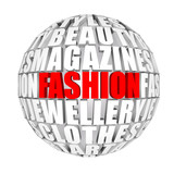 circulation fashion in the world poster