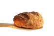 Bun on a wooden spoon
