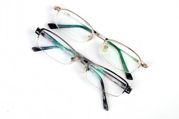 Two eyeglasses