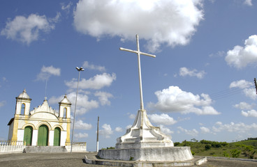 The old colonial city of Laranjeiras, state of sergipe