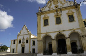 The old  colonial city of Sao Cristovao,Sergipe