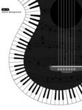 Fototapety Musical background