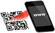 Smartphone Scanning QR-Code www
