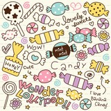 Cute Doodle Candy