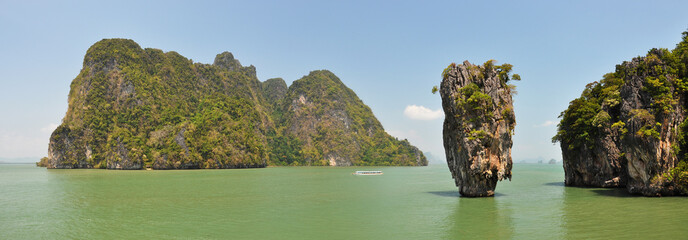 James Bond Island, Phang Nga, Thailand ..