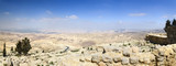 View from Mount Nebo, place of Moses grave, to the valley. Panor poster