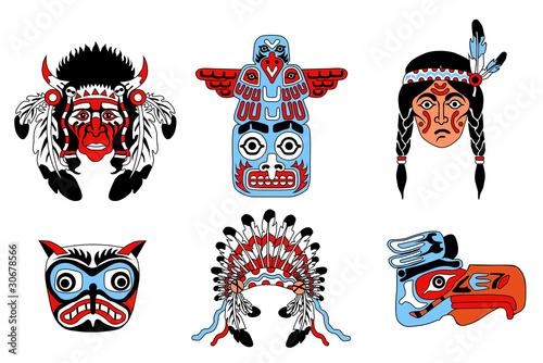 Как сделать маску индейца своими руками из бумаги