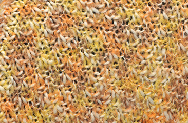 Yellow wool texture, bay be used as background