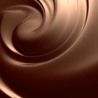 Astonishing chocolate swirl