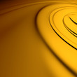 Yellow swirl closeup. Backgrounds series.
