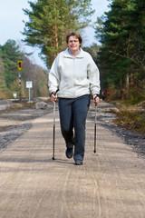 Nordic Walking im Frühjahr