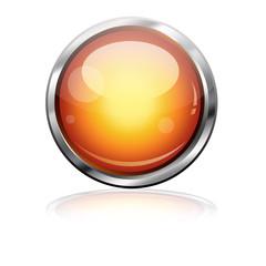 Boton futurista naranja