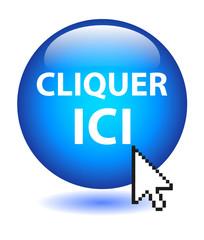 Bouton Web CLIQUER ICI (souris cliquez connexion curseur clic)