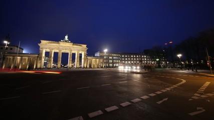 Brandenburger Tor ZEITRAFFER