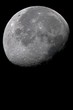 Fototapete Krater - Mond - Nacht