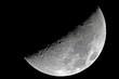 Fototapete Krater - Halb - Nacht