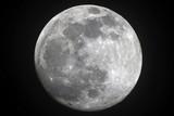 Fototapeta krater - księżyc - Noc