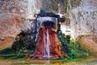 Leinwanddruck Bild - Source d'eau chaude