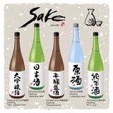 Japanese Kanji character Sake and bottle(1)