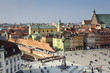 Old Town panoramic view, Warsaw, Poland