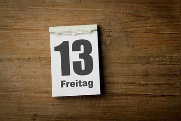 13 Freitag