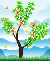 Стилизованное дерево