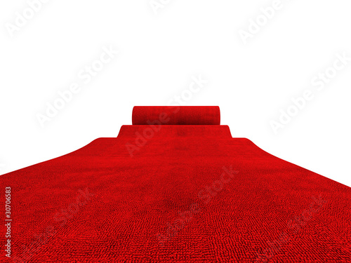 rolling red carpet - 30706583