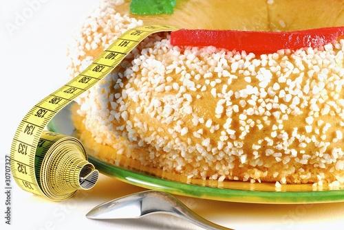 gâteau et régime