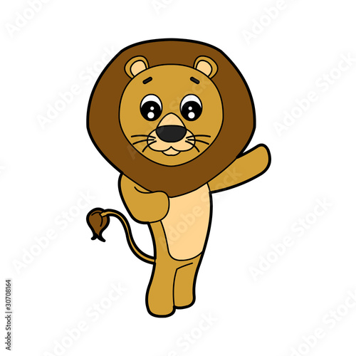 Lion Cartoon Character on Cute Lion Cartoon Character    Randomchuck  30708164   See Portfolio