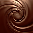 Astonishing chocolate swirl. Backgrounds series.