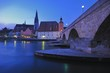 Stone Bridge and Brucktor City Gate, Regensburg