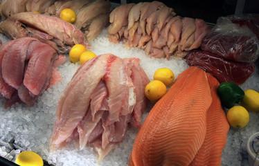 Fish at a Fish Market