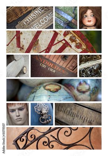 antiquités, brocante, collection, vide-genier, insolite, objets